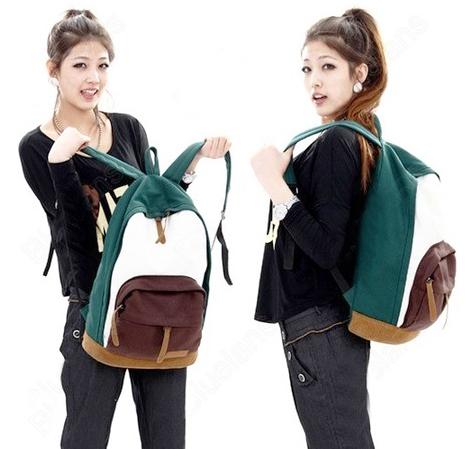 женские молодёжные рюкзаки