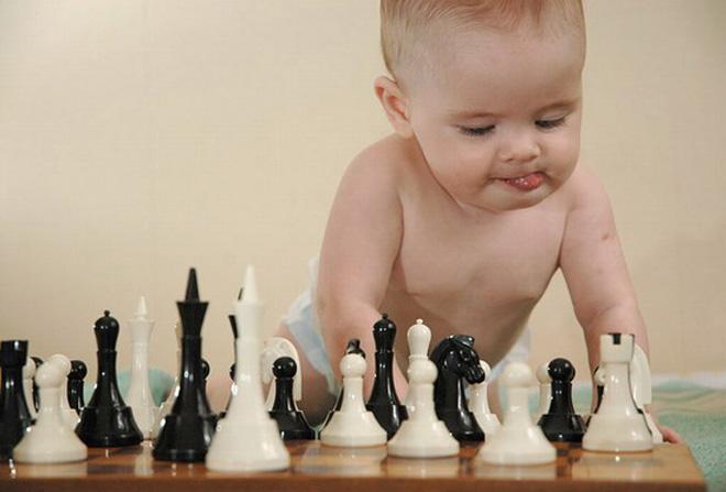 Интеллектуальное развитие ребенка до года