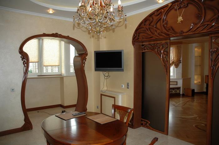 Эксклюзивная мебель из древесины