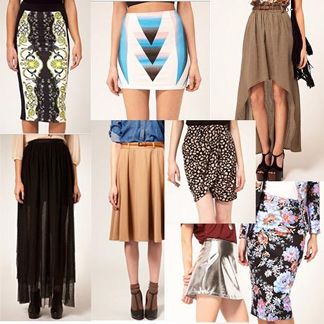 Разновидность юбки фото