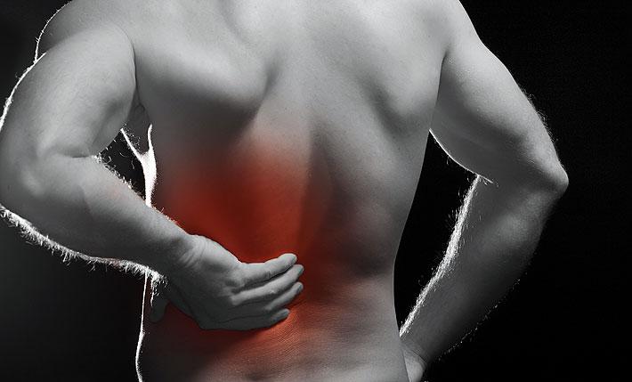 Как справится с болью в спине