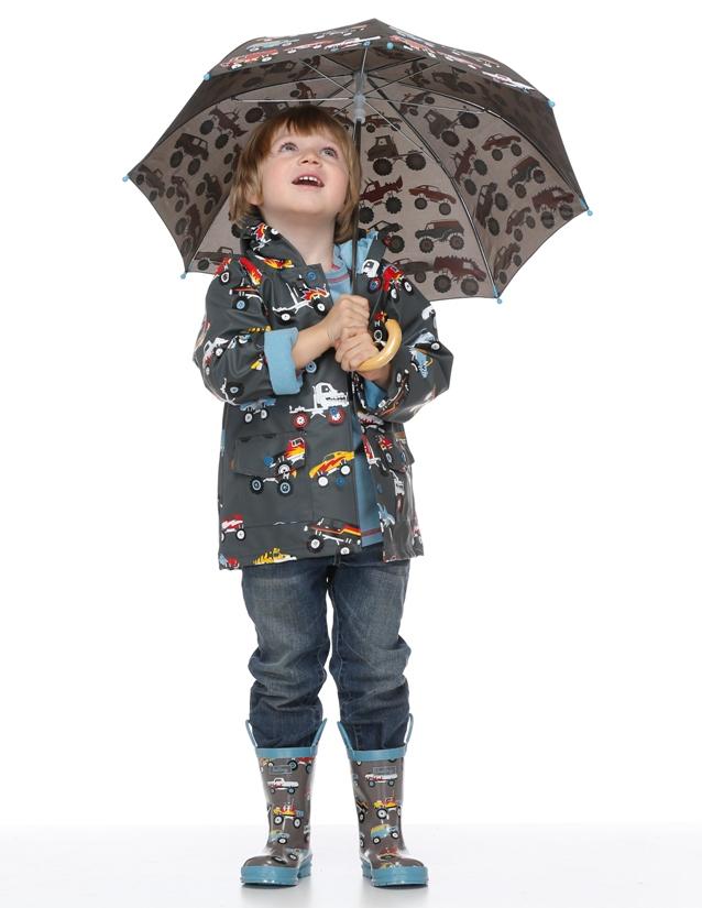 В какую погоду стоит надевать на ребенка плащ