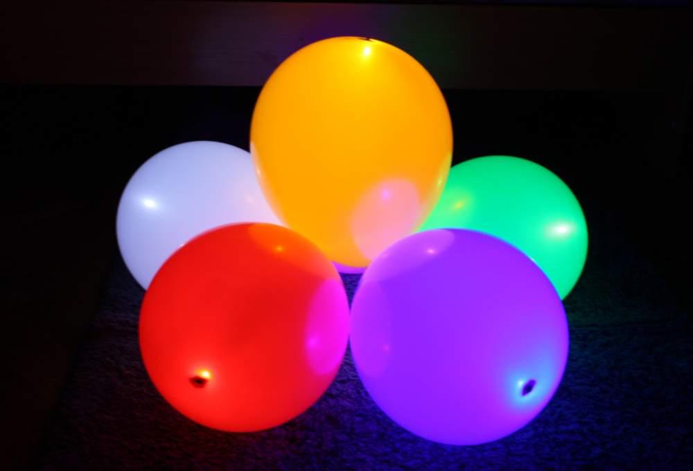 Светящиеся воздушные шары2