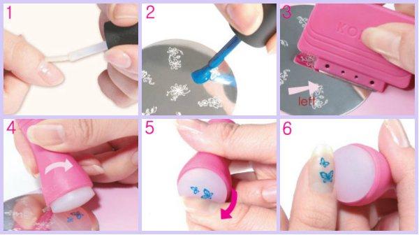 Что такое стемпинг для ногтей