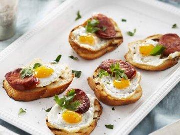Блюда из перепелиных яиц
