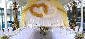 Украшение зала на свадьбу: полезная информация