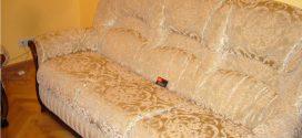 Как правильно перетянуть диван?