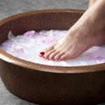 молочная ванночка для ног